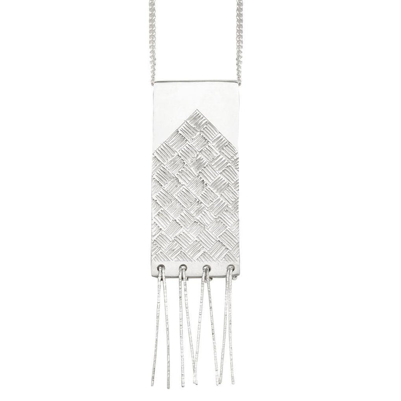 Abby Seymour — Sterling Silver Ziggurat Necklace - Australian made Jewellery