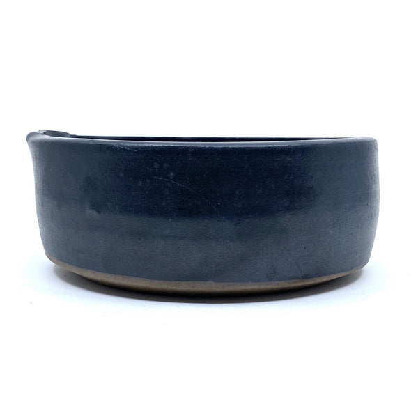 Adriana Christianson — Matt Black Medium Baking Dish - Australian made Ceramics