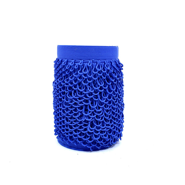 Alterfact — 3D Printed Porcelain 'Loopy - Banksia' Vase in Dark Blue | Sculpture Ceramics Alterfact | Craft