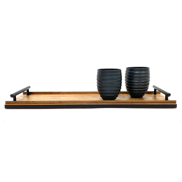 Anton Gerner — 'STRAY' Fiddleback Blackwood Wooden Tray - Australian made Wood