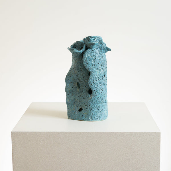 Bettina Wilner-Browne  — 'Flower Head 2' Sculpture - Australian made Ceramics