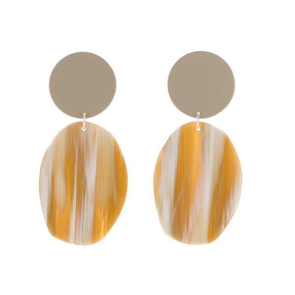 Bianca Marvrick — Geology Earrings - Australian made Jewellery