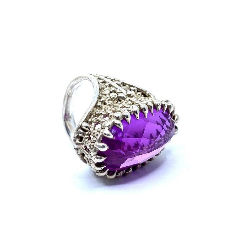 Cashmere Malekitsch — High Princess Pink Sapphire Ring - Australian made Jewellery