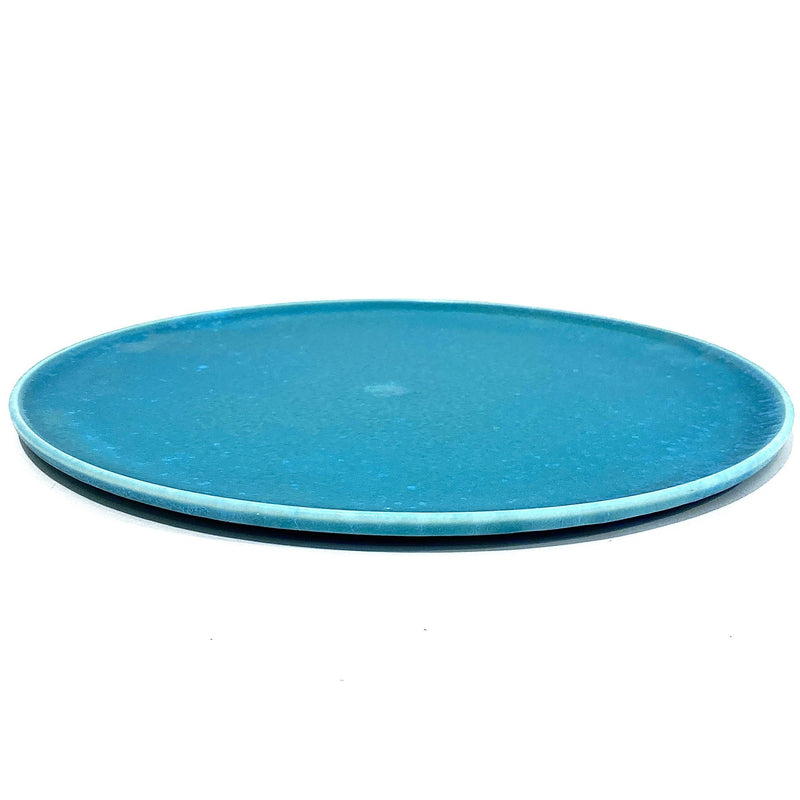 Christopher Plumridge, Claystone Pottery — Extra Large Turquoise Serving Platter - Australian made Ceramics