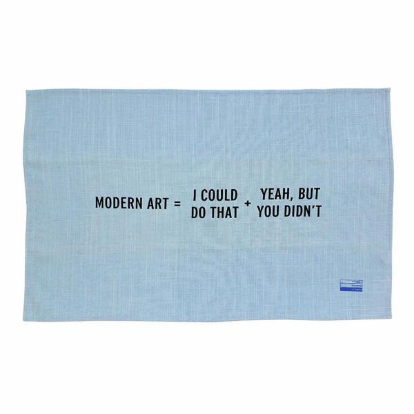 Craig Damrauer x Third Drawer Down — Modern Art Teatowel - Australian made Textiles