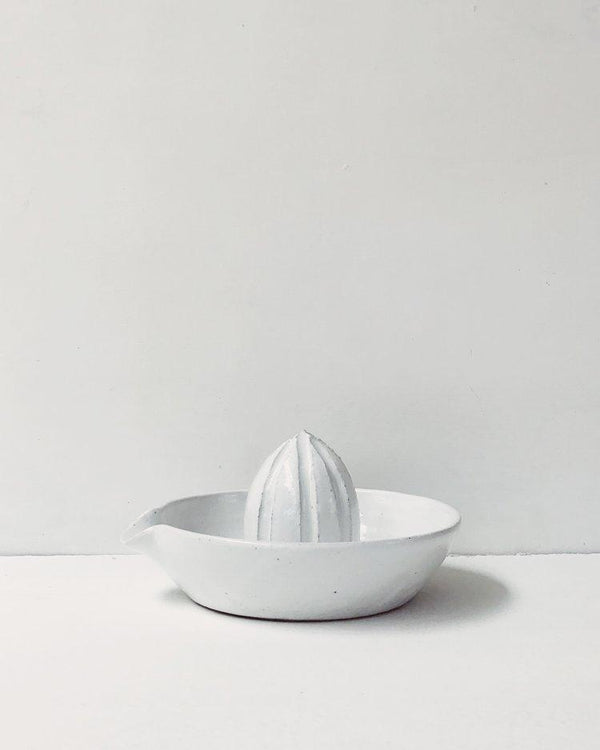 Dot & Co. — Fog White Citrus Juicer juicer Dot & Co. | Craft