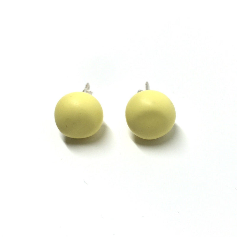 Emily Green — Sunshine Yellow Studs - Jewellery - Craft