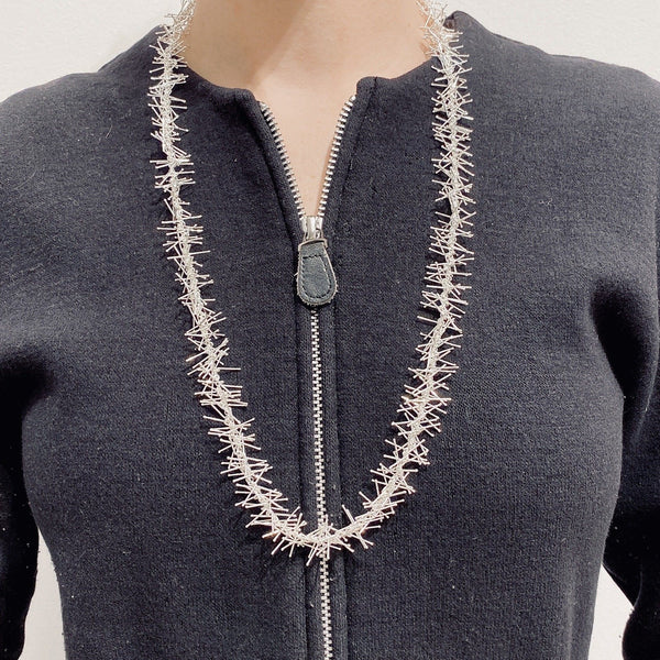 Felicity Large — Silver Necklace - Australian made Jewellery