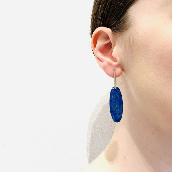 Fiona Watkins, Caracus — Chrysoprase Drop Earrings - Australian made Jewellery