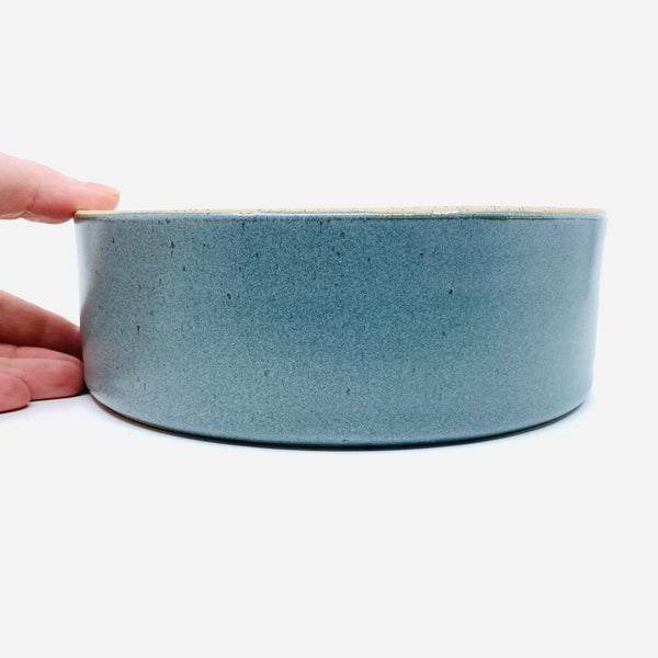 Ingrid Tufts — Bistro Baking | Serving Bowl in Green - Australian made Ceramics
