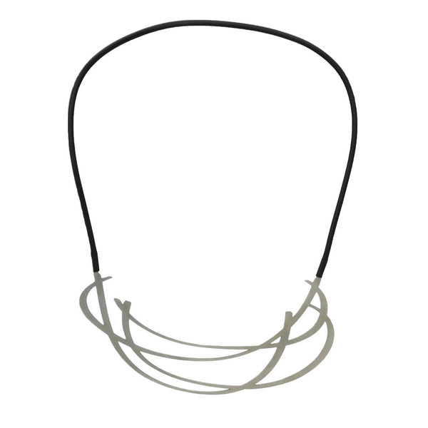 inSync design — Huddle Necklace in Raw Stainless Steel - Australian made Jewellery