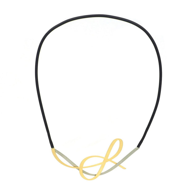 inSync design — X2 Tangle Necklace in Gold/Raw - Australian made Jewellery