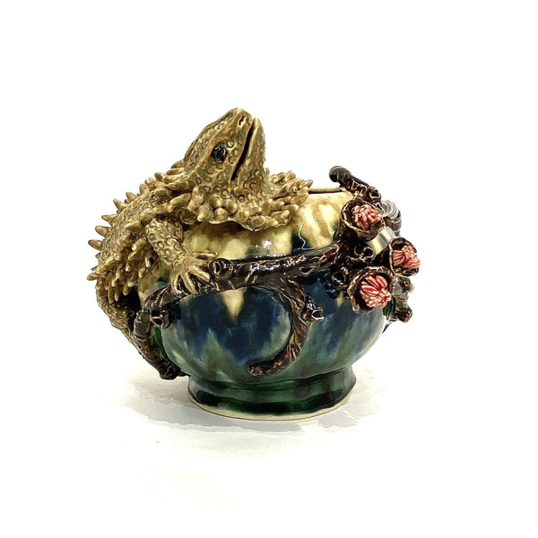 Janet Beckhouse — 'Dragon Bowl' Baroque Sculpture Ceramics Janet Beckhouse | Craft
