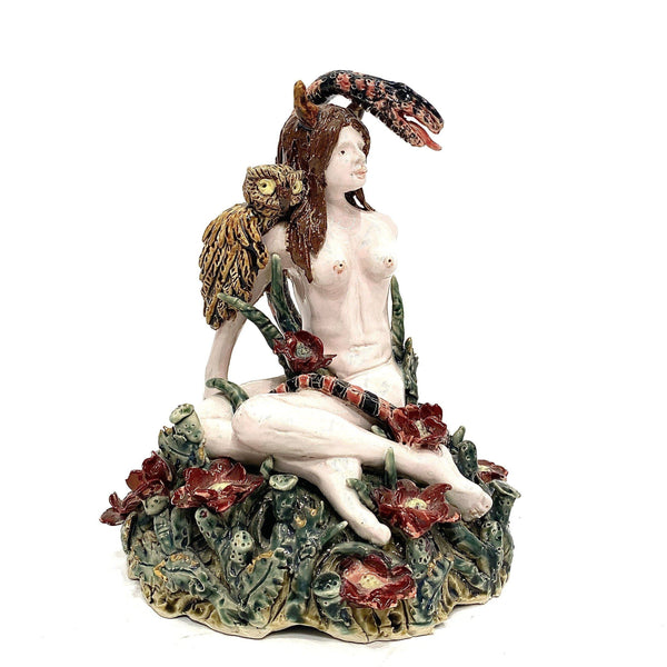 Janet Beckhouse — 'Lillith' Baroque Sculpture Ceramics Janet Beckhouse | Craft