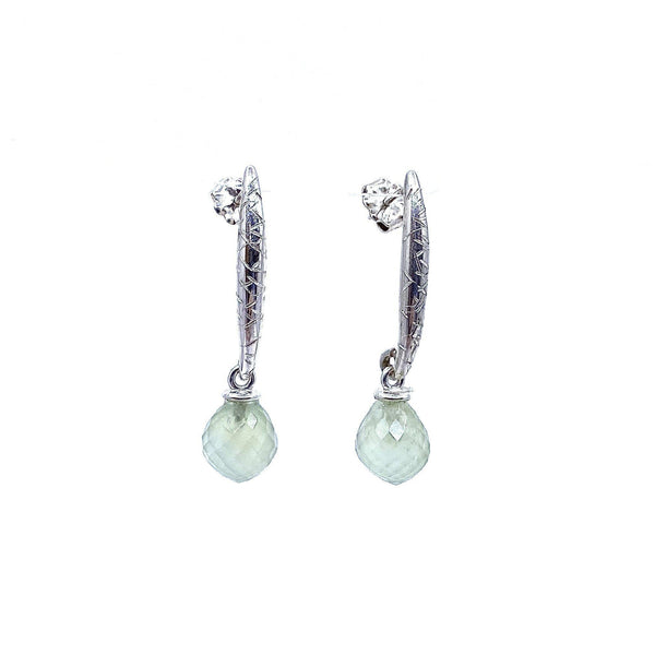 Jenny Fahey — Silver Drop Earrings - Australian made Jewellery