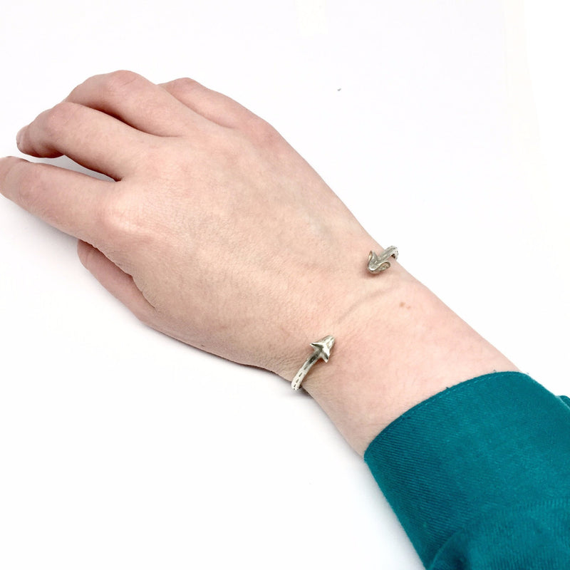 Karla Way — Silver Mini Fauna Cuff - Australian made Jewellery
