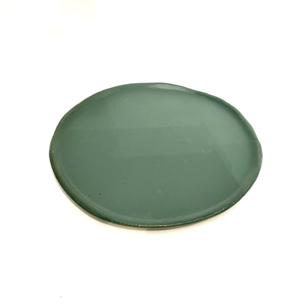 Katherine Mahoney — Side Plate in Green plate dinner Katherine Mahoney | Craft