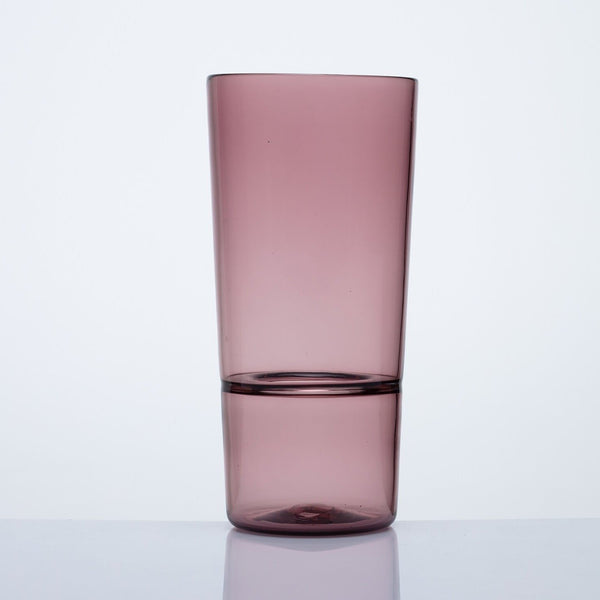 Katie-Ann Houghton — Hand Blown Dusty Rose 'Wrangler' Glass Vase - Australian made Glass