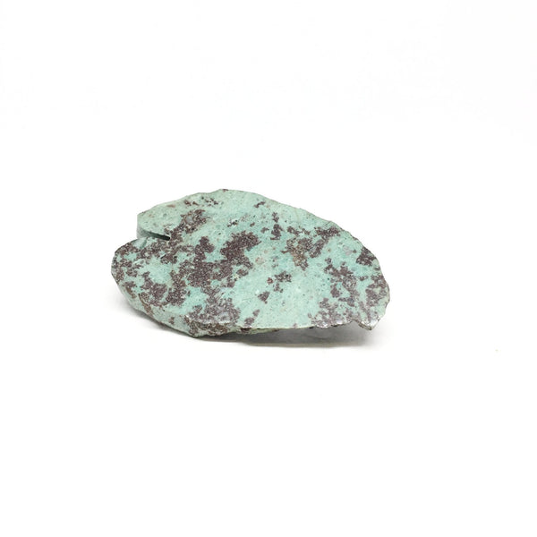 Katie Jayne Britchford — Chrysocolla and Cuprite Heart Brooch - Australian made Jewellery