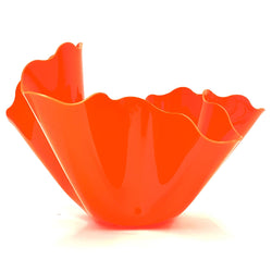 Lightly  — X Large Orange Bon Bon Vase - Australian made Sculpture