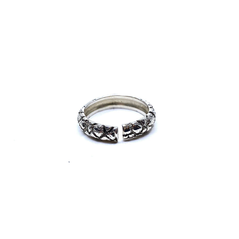 Lisa Roet — Sterling Silver Orangutan Ring - Australian made Jewellery