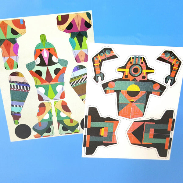 Make Your Own Robot - Paper - Craft