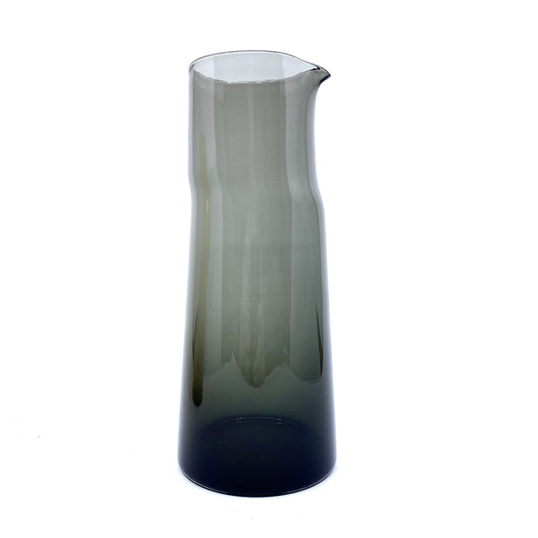 Marcel Hoogstad Hay — Black Glass 'Shift' Carafe - Australian made Glass
