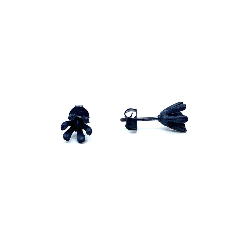 Melinda Young — Shadowlands Mini Agapanthus Stud Earrings - Australian made Jewellery