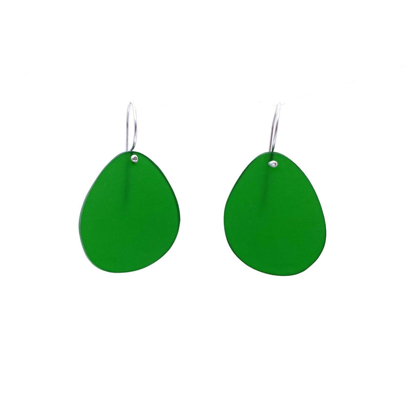 Melinda Young — Shimmer Earrings in Green Jewellery Melinda Young | Craft
