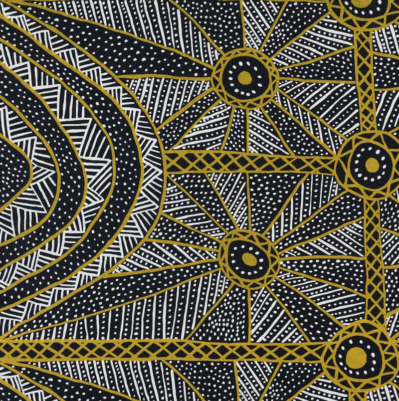 NORTH — Tiwi Boxy Top - Australian made Textiles