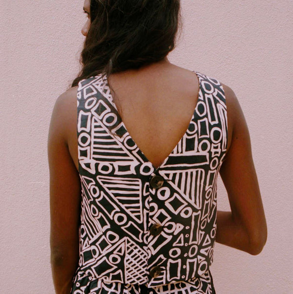 NORTH — Tiwi Summer Top - Australian made Clothing