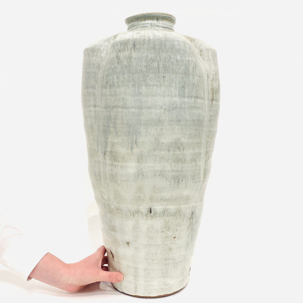 Owen Rye — Large Grey Vase Ceramics Owen Rye | Craft
