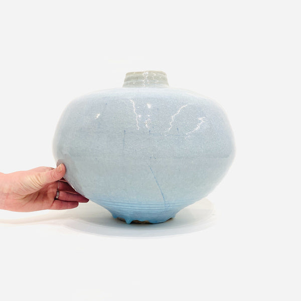 Owen Rye — Large Pot in Blue Ceramics Owen Rye | Craft