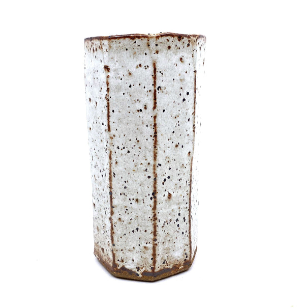 Owen Rye — Wood Fired Vase - Australian made Ceramics