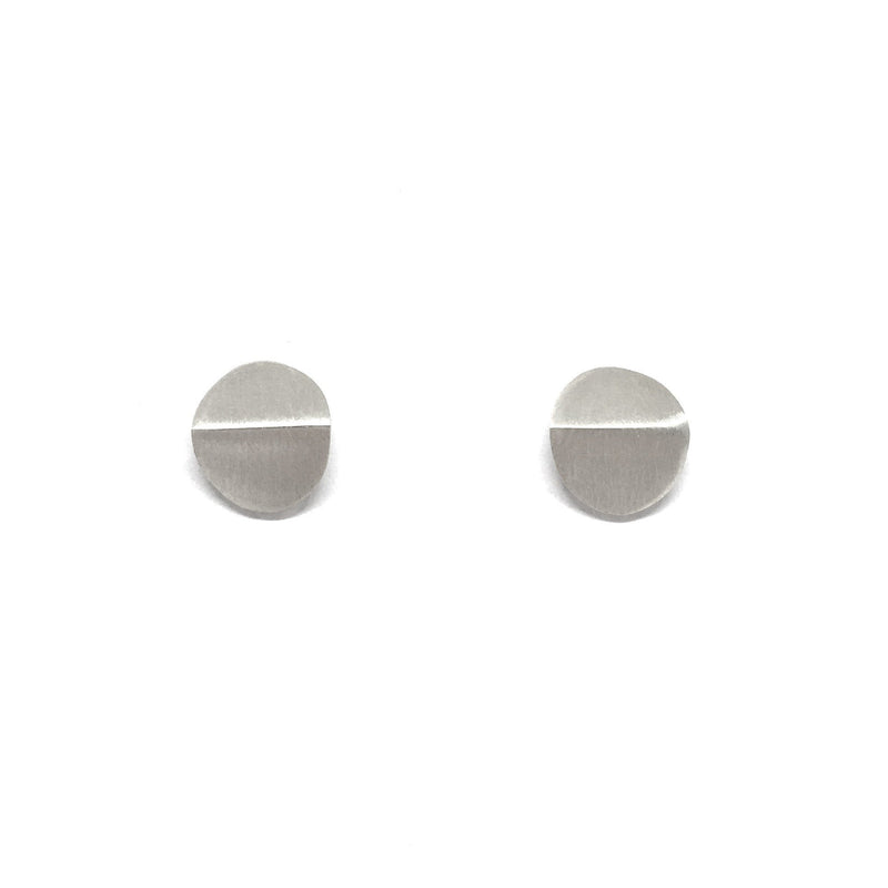 Pip Keane — Round Bent Earrings - Australian made Jewellery