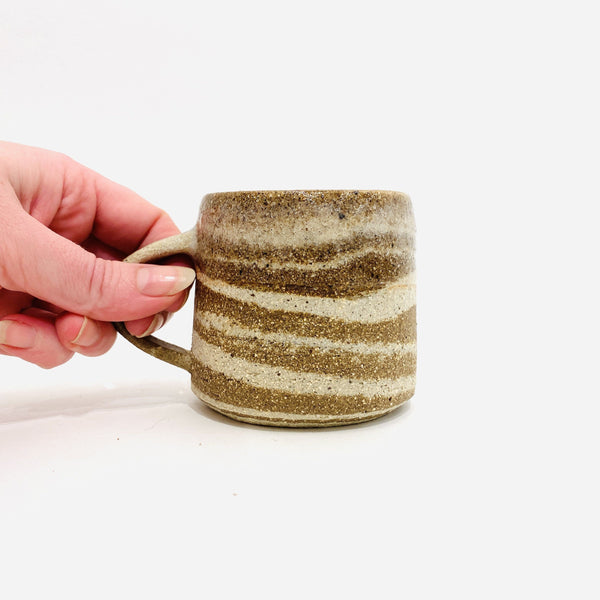 Rafal Kaczmarek, Sticky Earth Ceramics — Mug in Mixed Clay Ceramics Rafal Kaczmarek, Sticky Earth Ceramics | Craft