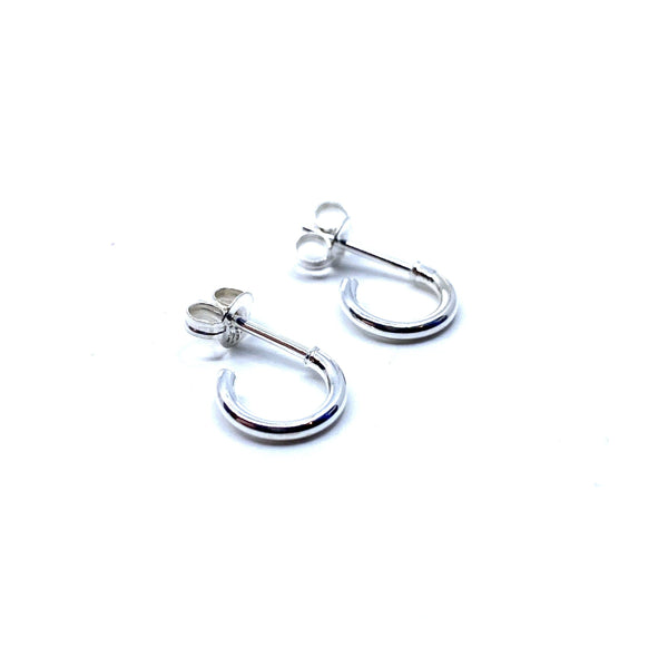 Rhiannon Smith, Two Hills — Earrings No.34 Silver - Australian made Jewellery