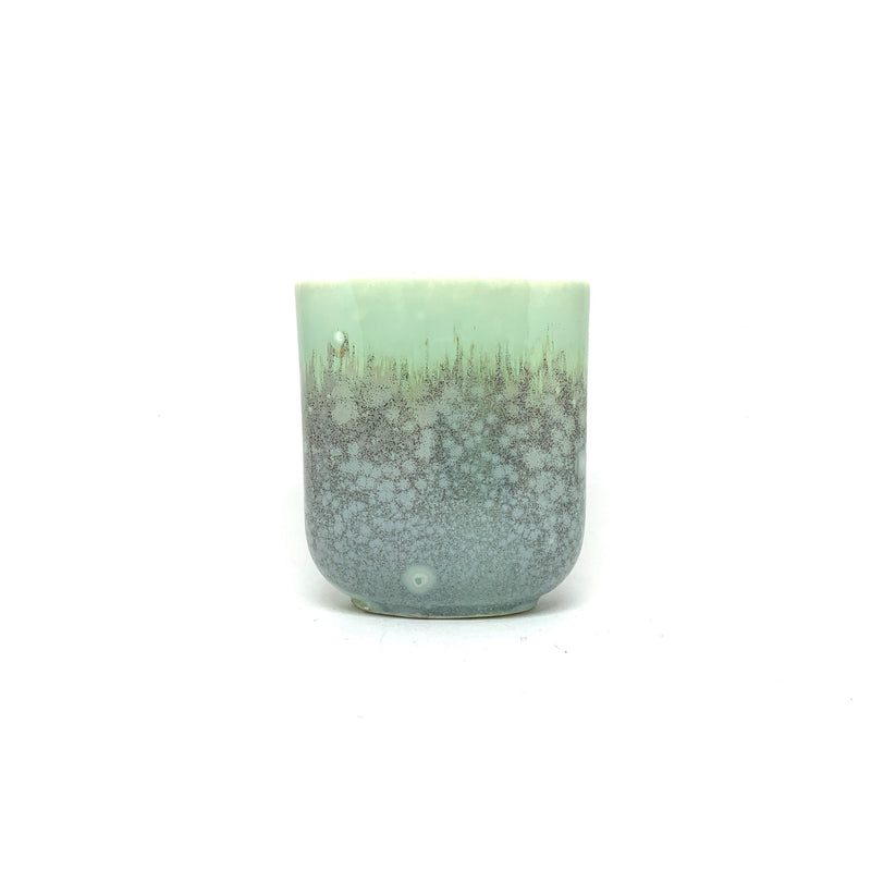 Ryan L Foote — Crystalline Glaze Oval Cup - Australian made Ceramics