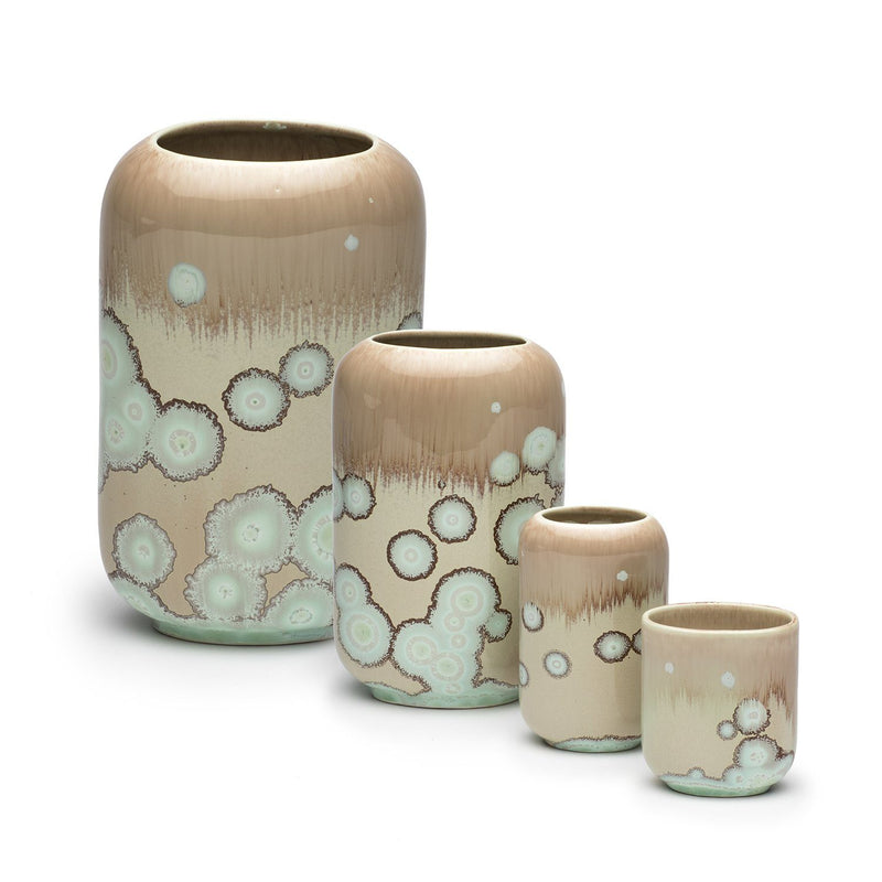 Ryan L Foote — Crystalline Glaze, Large Vase, 'Wattle' Series - Australian made Ceramics