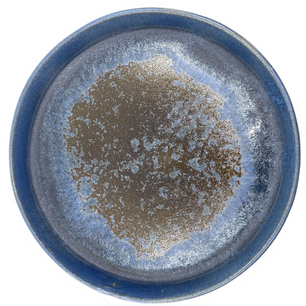 Ryan L Foote —  Crystalline Serving Plate - Australian made Ceramics