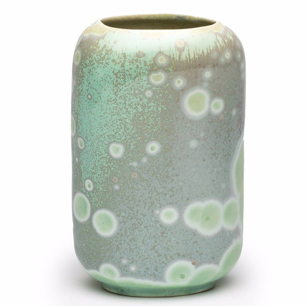 Ryan L Foote — Large Crystalline Vase, 'Jade' Series - Australian made Ceramics