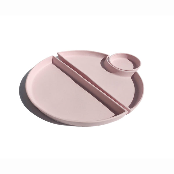 Ryan L Foote —  Porcelain Bento Set Style 1 in Pink - Australian made Ceramics