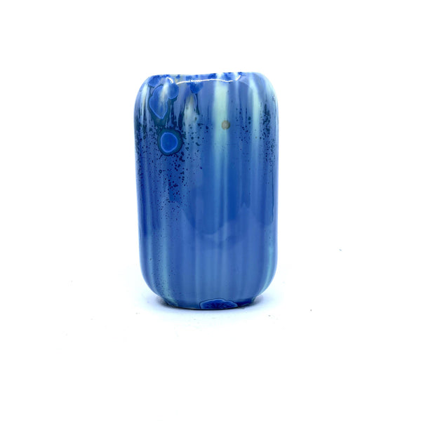Ryan L Foote — Small Crystalline Vase - Australian made Ceramics