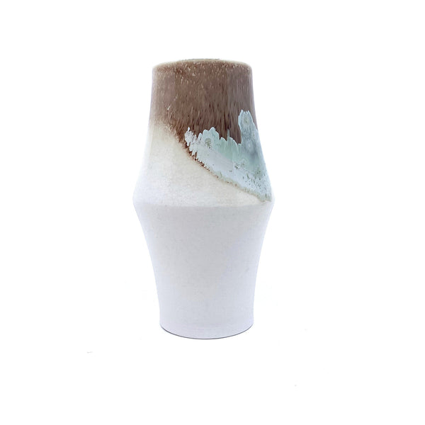 Ryan L Foote —  Wattle Crystalline Glaze Tiki Cup | Vase - Australian made Ceramics