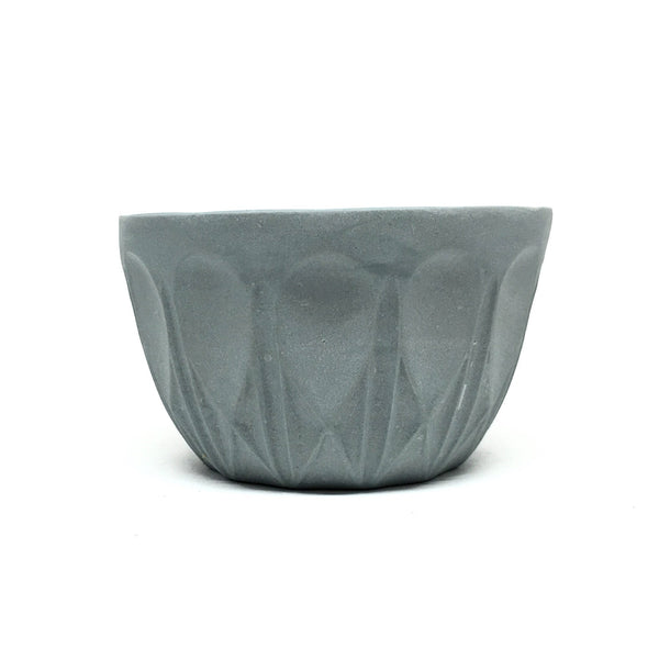 Sarah O'Sullivan — Small 'Mint' Keepsake Bowl in Cement Grey - Australian made Ceramics