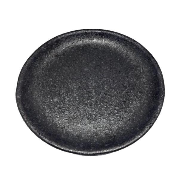 Sharon Alpren — Black Shallow Bowl - Australian made Ceramics