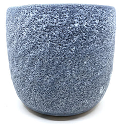 Sharon Alpren — Blue Volcanic Planter - Australian made Ceramics