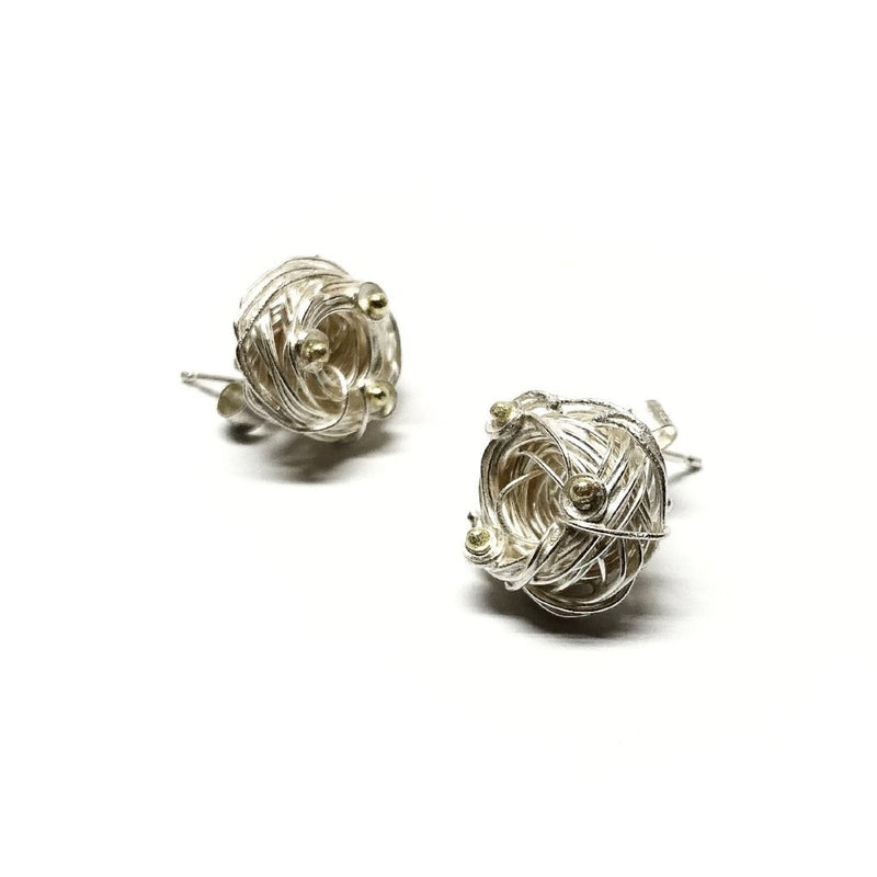 Shimara Carlow — Gold and Silver Earrings - Australian made Jewellery
