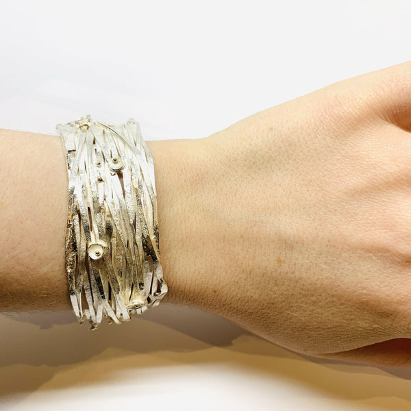 Shimara Carlow — Gold and Silver Bracelet - Australian made Jewellery