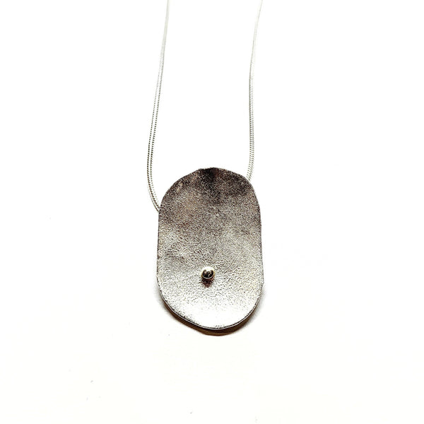 Shimara Carlow — Gold and Silver Pendant - Australian made Jewellery